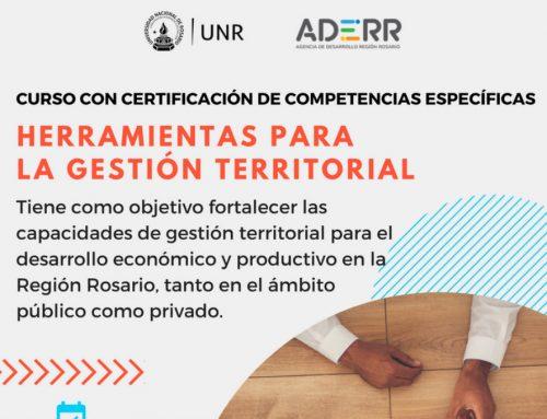 """Comienza el Curso con certificación: """"Herramientas para la gestión territorial"""""""