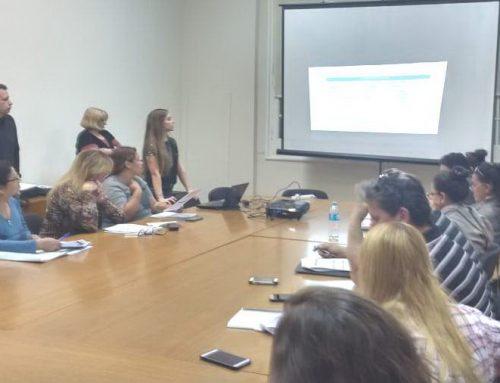 Capacitación a emprendedores del programa Promufo