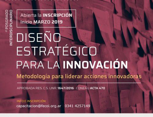 Carrera de posgrado: Diseño Estratégico para la Innovación