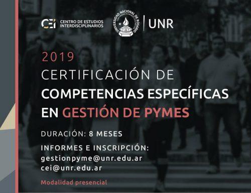 Certificación de Competencias Específicas en Gestión de Pymes