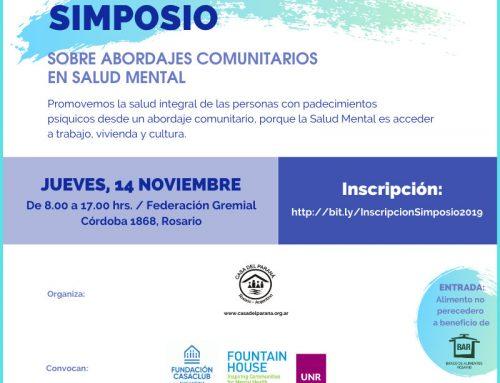 Casa del Paraná organiza un Simposio sobre abordajes comunitarios en Salud Mental