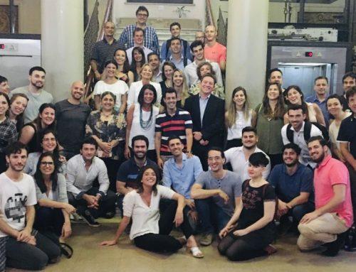 Finalistas y ganadores de la décima competencia de Planes de Negocios