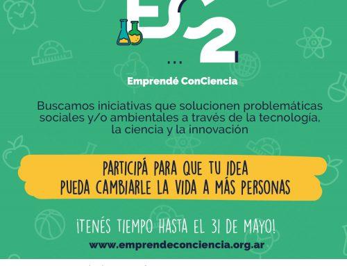 Cuarta edición de Emprendé ConCiencia: cómo participar