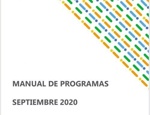 Manual de Programas Septiembre 2020 para pymes