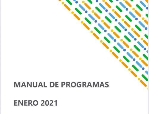 Manual de Programas Enero 2021