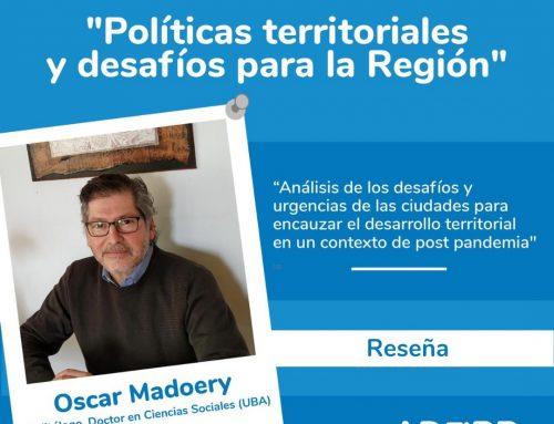 Reseña de la charla «Políticas territoriales y desafíos para la región»