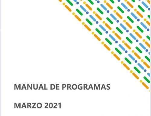 Manual de Programas marzo 2021
