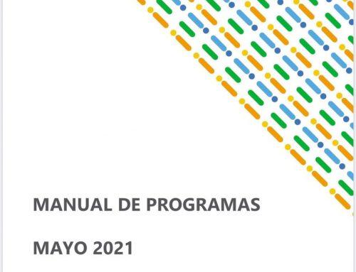 Manual de Programas mayo 2021