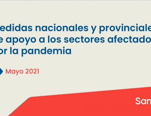 Nuevas medidas para los sectores afectados por la pandemia