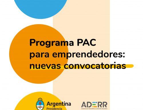 El programa PAC lanza dos nuevas convocatorias para emprendedores