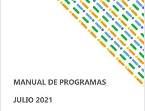 Manual de Programas julio 2021