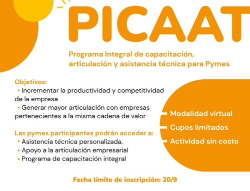 Programa Integral de capacitación, articulación y asistencia técnica para pymes de la Región Rosario -PICAAT