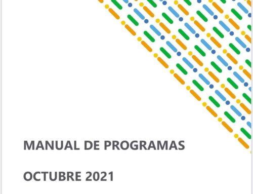 Manual de Programas octubre 2021